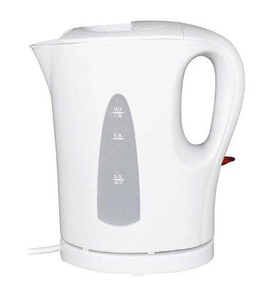 Caterlite Hotelzimmer Wasserkocher | Kunststoff Weiß | 1 Liter