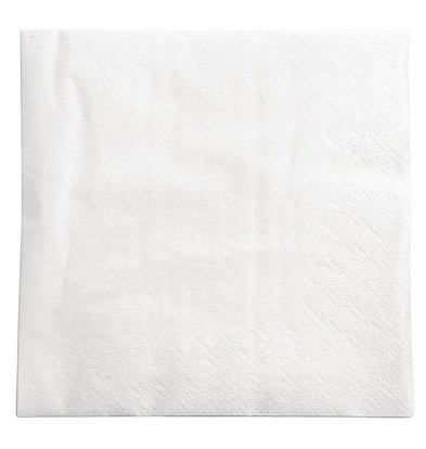 XXLselect Papierservietten Weiß | 2-Lagig | 250x250mm | 1500 Stück
