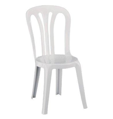 Resol Mehrzweckstuhl Weiß Kunststoff | 6 Stück