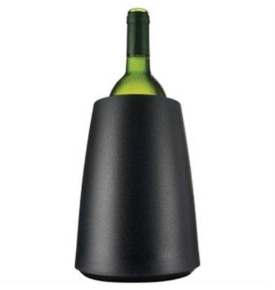 Vacu-vin Vacu-Vin Kühlmanschette Schwarz | Ø155x(h)230mm