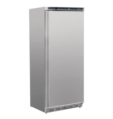 Polar Edelstahl Tiefkühlschrank | 600 Liter | 780x690(h)1890mm