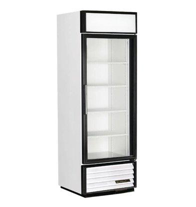 True Kühlschrank mit Glastür | 538 Liter | 680x630x(h)1990mm | 5 Jahre Garantie