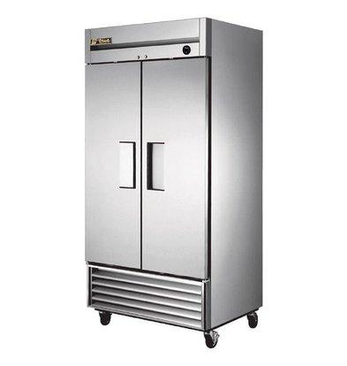 True Edelstahl Tiefkühlschrank | 991 Liter | 1000x750x(h)2070mm | 5 Jahre Garantie