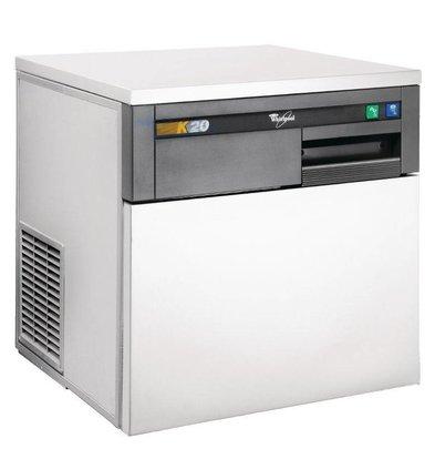 Whirlpool Eiswürfelbereiter Luftgekühlt | Whirlpool K20 | 20kg/24h | 555x535x(h)590mm