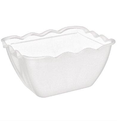 Kristallon Salatschüssel | Melamin Weiß | Erhältlich in 3 Größen