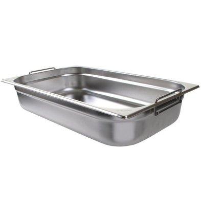 Vogue Gastronorm Behälter mit Griffen 1/1GN | 13,5 Liter | Tiefe 100mm