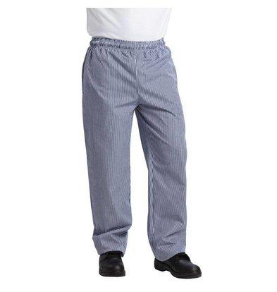 Whites Chefs Clothing Vegas Kochhose Unisex | Blau-Weiß kariert | Erhältlich in 6 Größen