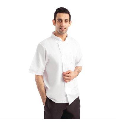 Whites Chefs Clothing Whites Boston Unisex Kochjacke | Kurze Ärmel | Erhältlich in 6 Größen