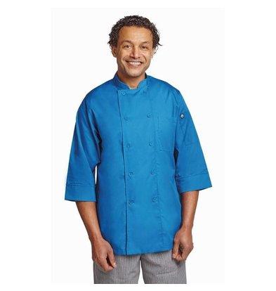 Chef Works Chef Works Lite Unisex Kochjacke Blau | Erhältlich in 6 Größen