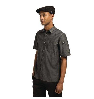 Chef Works Urban Chef Works Detroit Unisex Hemd schwarz | Erhältlich in 3 Größen