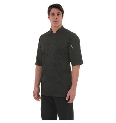 Chef Works Chef Works Montreal Unisex Kochjacke Schwarz | Erhältlich in 6 Größen