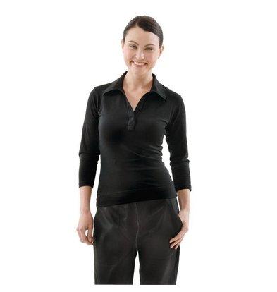 Chef Works Uniform Works Damen T-Shirt Schwarz | Erhältlich in 5 Größen