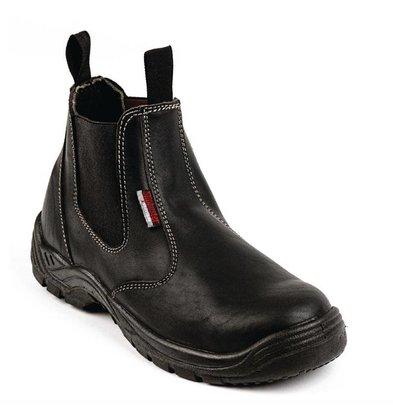 Slipbuster Footwear Chef Works Leder Halbschuh | Erhältlich in 7 Größen