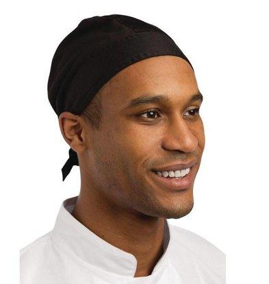 Whites Chefs Clothing Whites Kochbandana Nevada   Schwarz    Einheitsgröße