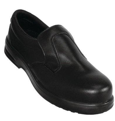 Lites Safety Footwear Lites Unisex Sicherheitsslipper Schwarz | Erhältlich in 12 Größen