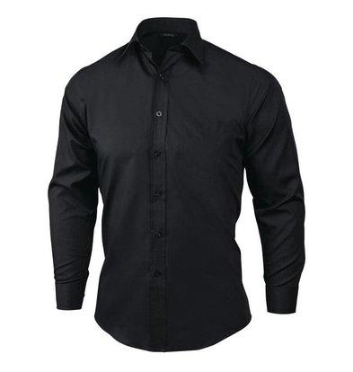 Chef Works Uniform Works Unisex Oberhemd Schwarz | Erhältlich in 4 Größen