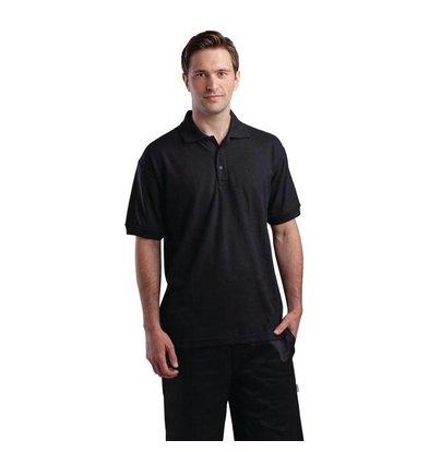 XXLselect Unisex Poloshirt Schwarz | Erhältlich in 4 Größen