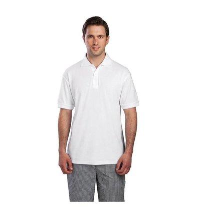 XXLselect Unisex Poloshirt Weiß | Erhältlich in 4 Größen