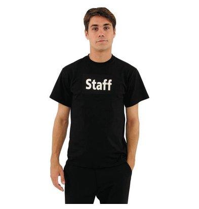 XXLselect Unisex T-shirt mit Staff Aufdruck | Schwarz | Erhältlich in 2 Größen
