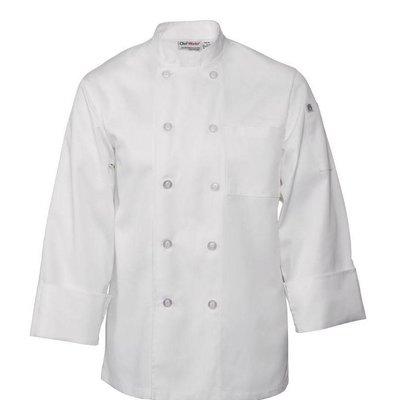 Chef Works Chef Works Le Mans Unisex Kochjacke Weiß | Erhältlich in 6 Größen