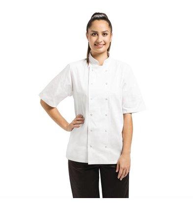 Whites Chefs Clothing Vegas Unisex Kochjacke mit Druckknöpfen | Erhältlich in 6 Gößen