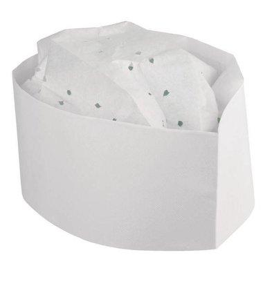 Plastico Plastico Einweg-Kochmütze Papier | Universell | 100 Stück