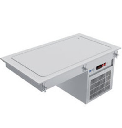 Diamond Kühlplatte 2x 1/1GN | 230V-0,3kW | 790x610xh510mm