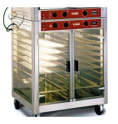 Diamond Wärmeschrank für Hähnchengrill DIRPB-5C | 230V-1,5kW | 850x650x(h)1005mm