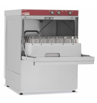 Diamond Gläserspülmaschine | Korb 45x45cm | 53x58x(h)71cm | Wasserenhärter | Made in Italy