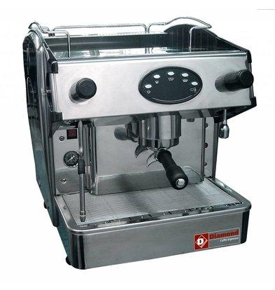 Diamond Amerikanische Espressomaschine | Edelstahl | Kapazität 6 Liter | 523x580x(h)475mm