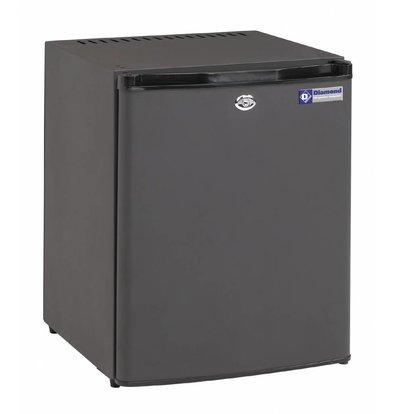 Diamond Minibar geschlossene Türfront | 30 Liter | 400x420x(h)500mm | Geräuscharm