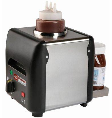 Diamond Schokoladenwärmer 1 liter | Thermostat bis 90°C | 225x175x(h)220mm