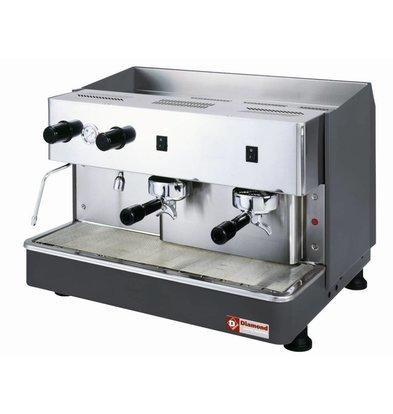 Diamond Espressomaschine 2 Kessel | Automatisch | 230V-2,9kW | 650x530x(h)430mm