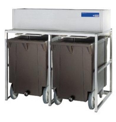 Diamond Reservebehälter mit Wagen | 2x 108kg | Geeignet für ICEV500A + ICEV900A