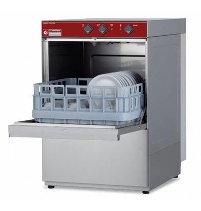 Diamond Gläserspülmaschine 40x40cm | 430x530x(h)660mm | Ablaufpumpe | Made in Italy