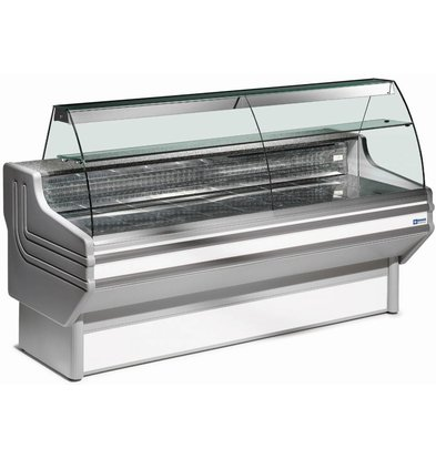 Diamond Kühltheke mit Granit Arbeitsfläche | 4° / 6°C | 2000x930x(h)1270mm