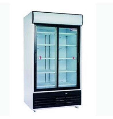 Diamond Kühlschrank mit Schiebetüren   875 Liter   2x5 Roste   1180x820x(h)2020mm