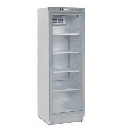 Diamond Kühlschrank mit Glastür | 380 Liter | Türanschlag Links oder Rechts | 590x600x(h)1840mm