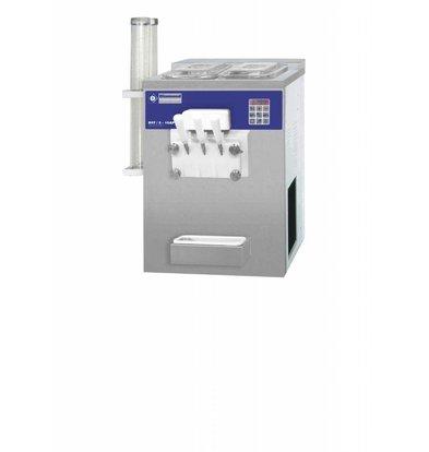 Diamond Softeismaschine   2 Geschmacksrichtungen + 1 gemischt   22,5kg/St   Luftkondensator