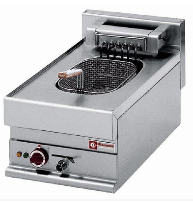 Diamond Elektro-Friteuse | 10 Liter | 400V/7,5kW | 400x650x(h)280-380mm