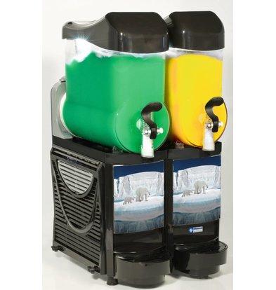 Diamond Kaltgetränke Dispenser | Granita Maschine/Spender | 2x10 Liter