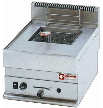 Diamond Gas-Friteuse | 8 Liter | Tischmodel | 5,4kW | 400x650x(h)280-380mm
