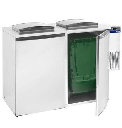 Diamond Kühleinheit für Abfallkühler Doppelt | 285x545x(h)745mm
