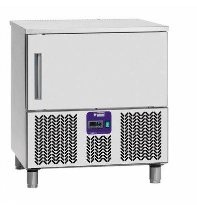 Diamond Schnellkühler-Schockfroster | 5x1/1GN | 790x700x(h)880-900mm