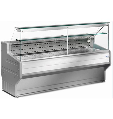 Diamond Kühltheke | Granit Arbeitsfläche | Temperatur: +4°C/+6°C | 2500x800x(h)1220mm