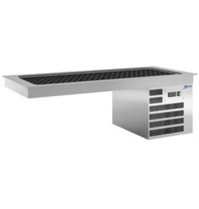 Diamond Kühlplatte | 4x1/1GN | Wasserdicht | 0,5 kW | 1440x610x(h)510mm