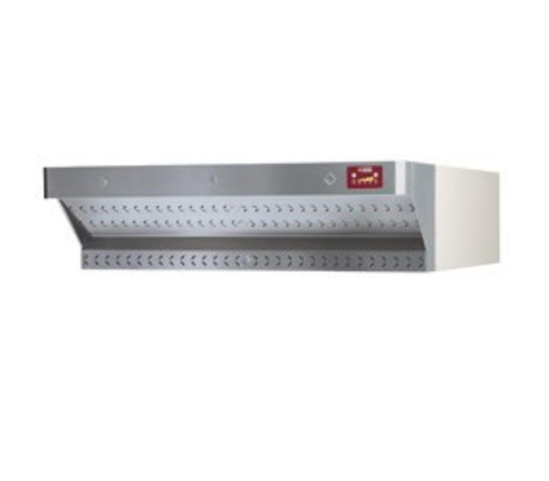 Diamond Abzugshaube für Pizzaofen | Edelstahl | mit Motor | DILD6/35-N & DILD12/35-N