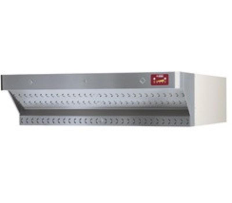 Diamond Abzugshaube für Pizzaofen | Edelstahl | mit Motor | DILD6/35XL-N & DILD12/35XL-N