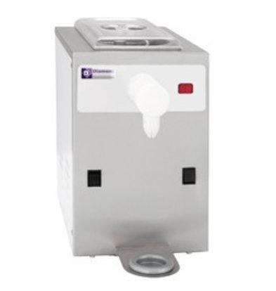 Diamond Sahnemaschine | 150 Liter/Std.| Inhalt 5 Liter | Edelstahl