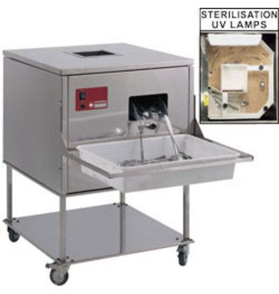 Diamond Poleermachine für Besteck | 7000-8000 Teile/Std. | 620x650x(h)870mm